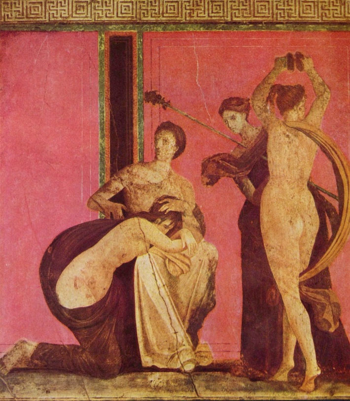 Villa of the Mysteries, Pompeii, Dionysian Mystery
