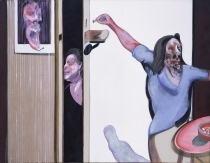 Francis Bacon, Three Studies of Isabel Rawsthorne, Neue Nationalgalerie Berlin