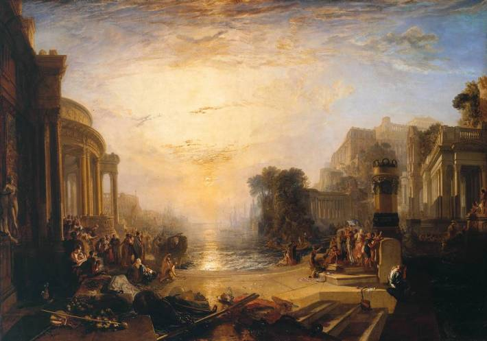 The Decline of the Carthaginian Empire ... exhibited 1817 Joseph Mallord William Turner
