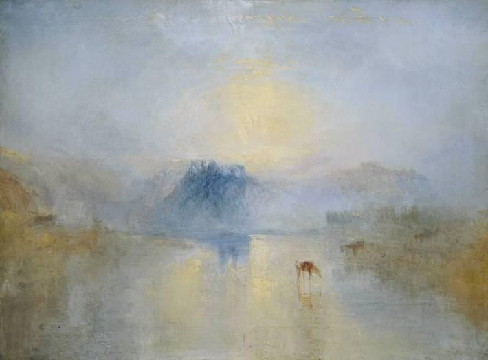 Joseph Mallord William Turner, Norham Castle, Sunrise c.1845