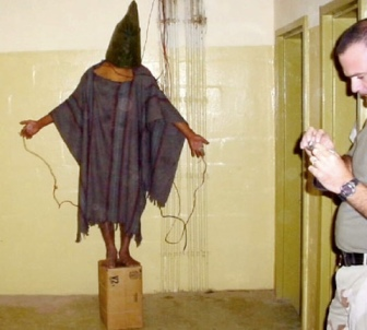 Abu Ghraib cruxifiction