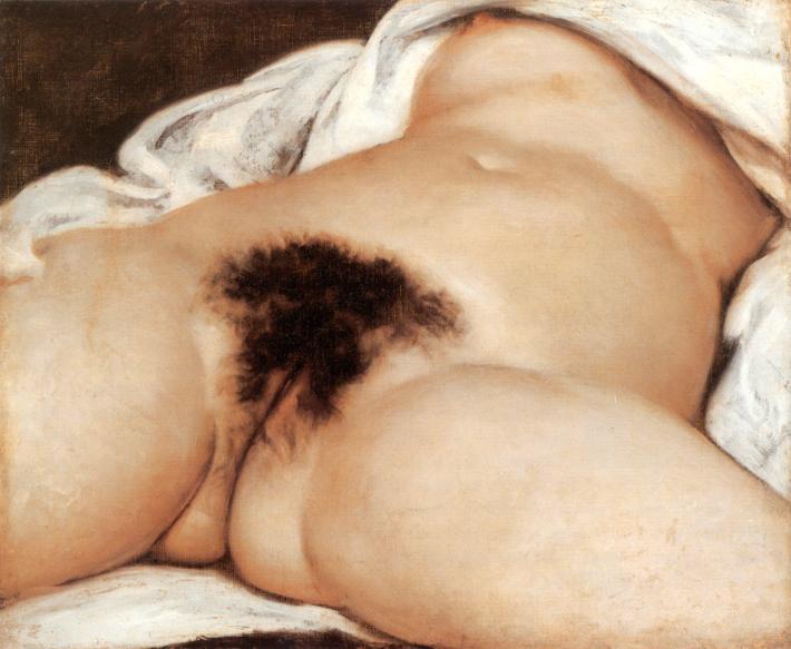 Courbet Gustave, L'Origine du Monde, 1866
