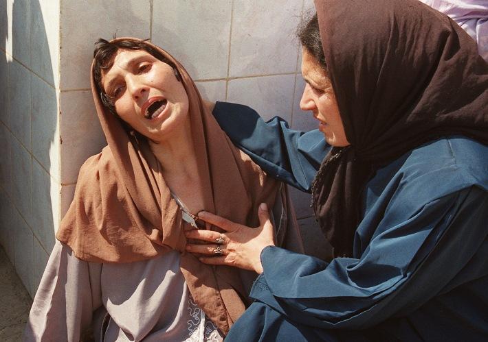"""Hocine Zaourar, """"Madonna of Bentalha"""",  Algeria 1997"""