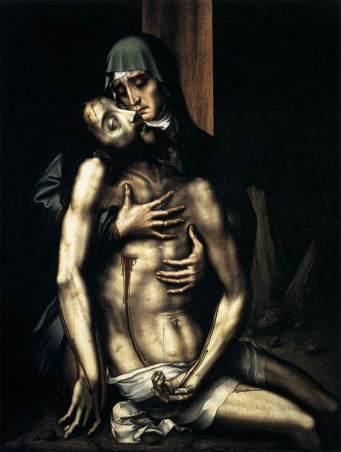 Luis de Morales - Pietà, 1560