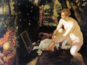 Tintoretto, Susanna and the Elders, ca. 1560