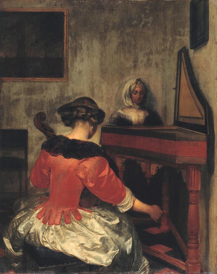 Gerard ter Borch, The Concert, 1655