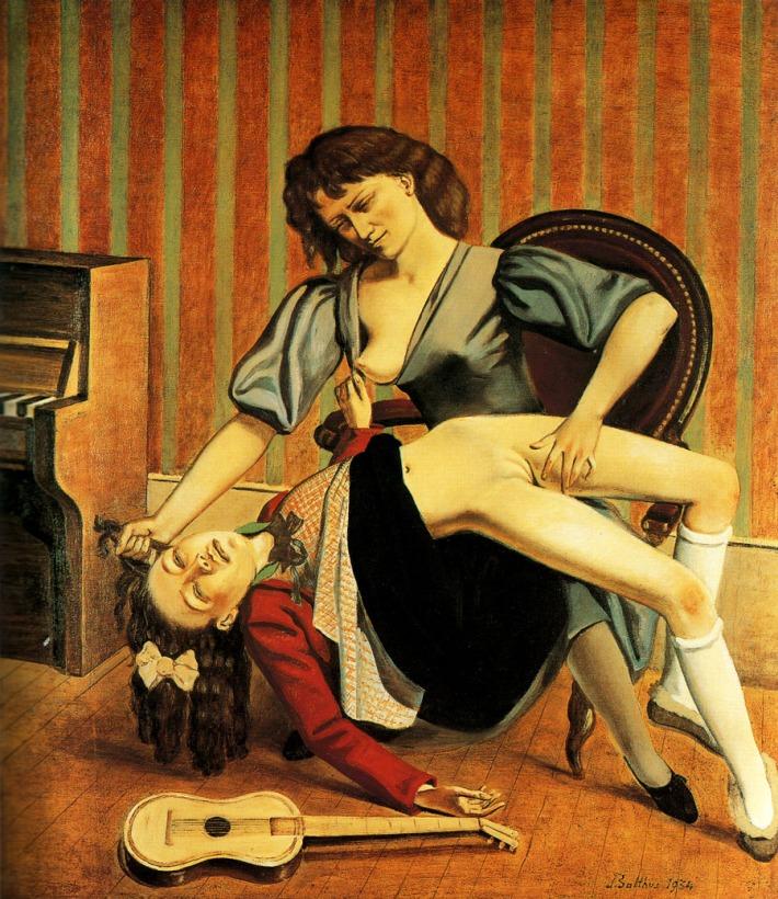 Balthus, The Guitar Lesson
