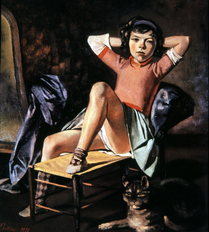 Balthus, Girl with Cat