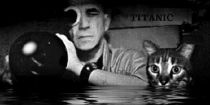 Chris Marker and cat filming